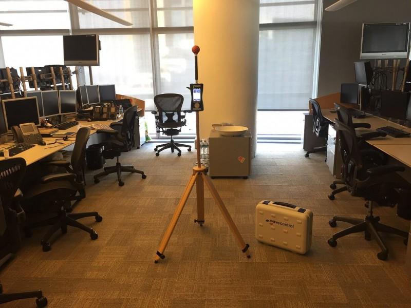 Ofis ortamlarında çalışanların maruz kaldıkları elektromanyetik radyasyon seviyesinin ölçümü